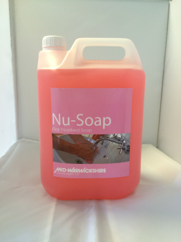 Nu-Soap, Luxury Pink Pearlised Hand Soap