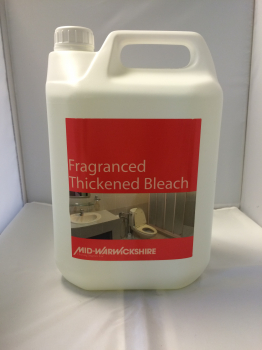 Fragranced Thickened Bleach