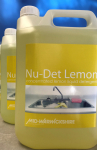 Nu-Det Lemon,Concentrated Lemon Liquid Detergent(2x5ltr)