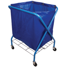 Replacement Blue Vinyl Bag For Folding Waste Cart(C49)