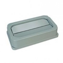 Wall Hugger,Drop Shot Lid,Grey (For CB8323 Base)