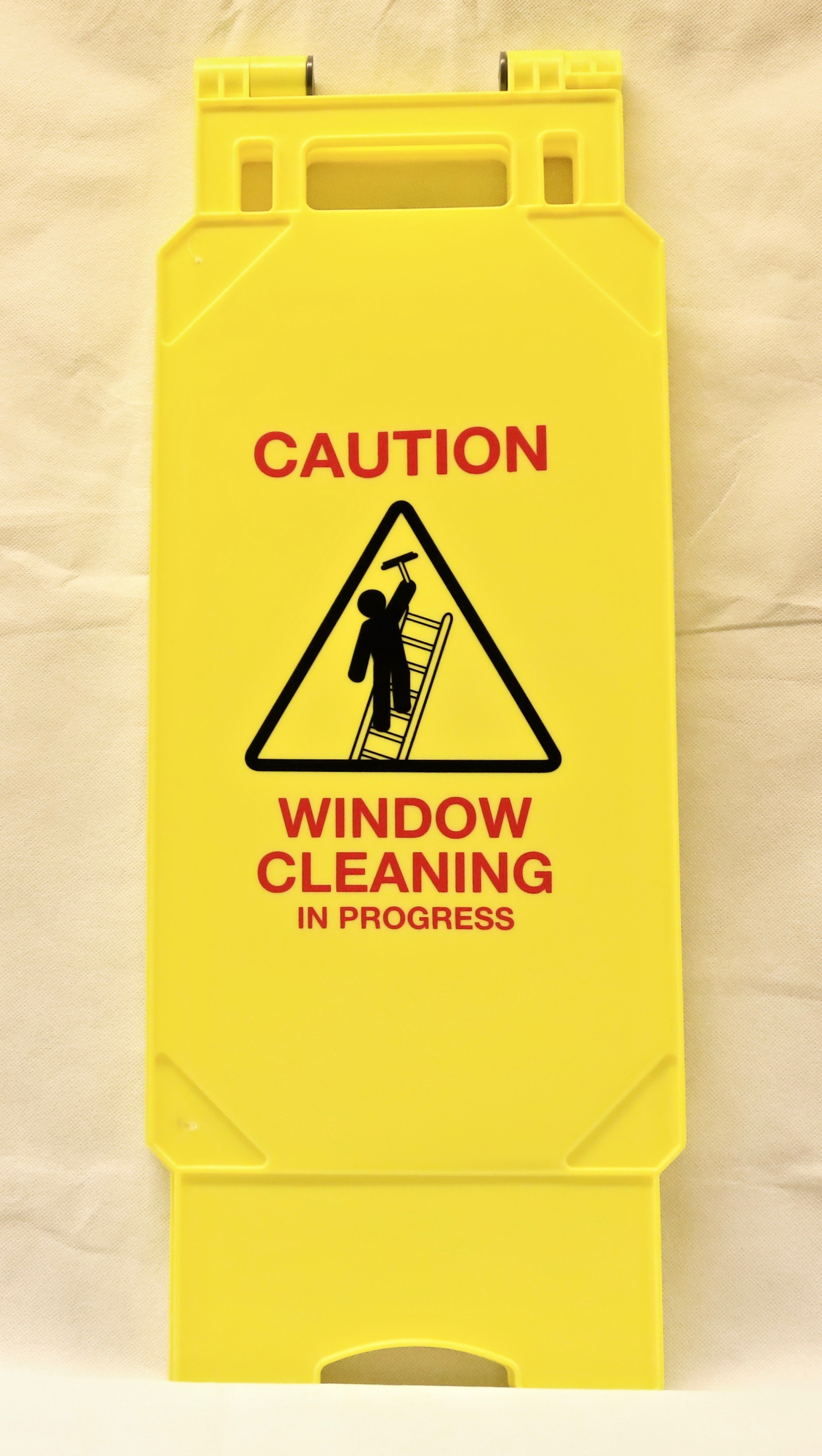 InchCaution Window CleaningInch Safety Sign.(1)