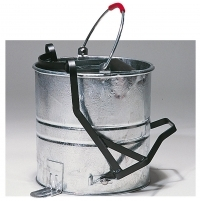 Galvanised Bucket And Roller, 10Ltr.