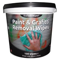 Paint & Graffiti Wipes (4x150 Wipes)