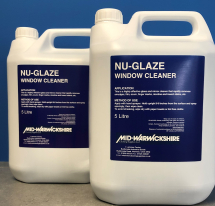 Nu-Glaze,Window,Mirror And Plastic Cleaner (2x5ltr.)