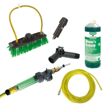 Unger Hiflo Kit,(33'Hose,Brush Scrub Tabs.)