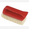 6inch Red Mexican Fibre Upholstery Brush.