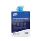 All Purpose Anti Bac Wipes, Blue Roll,37x22cm (200 Sheets)