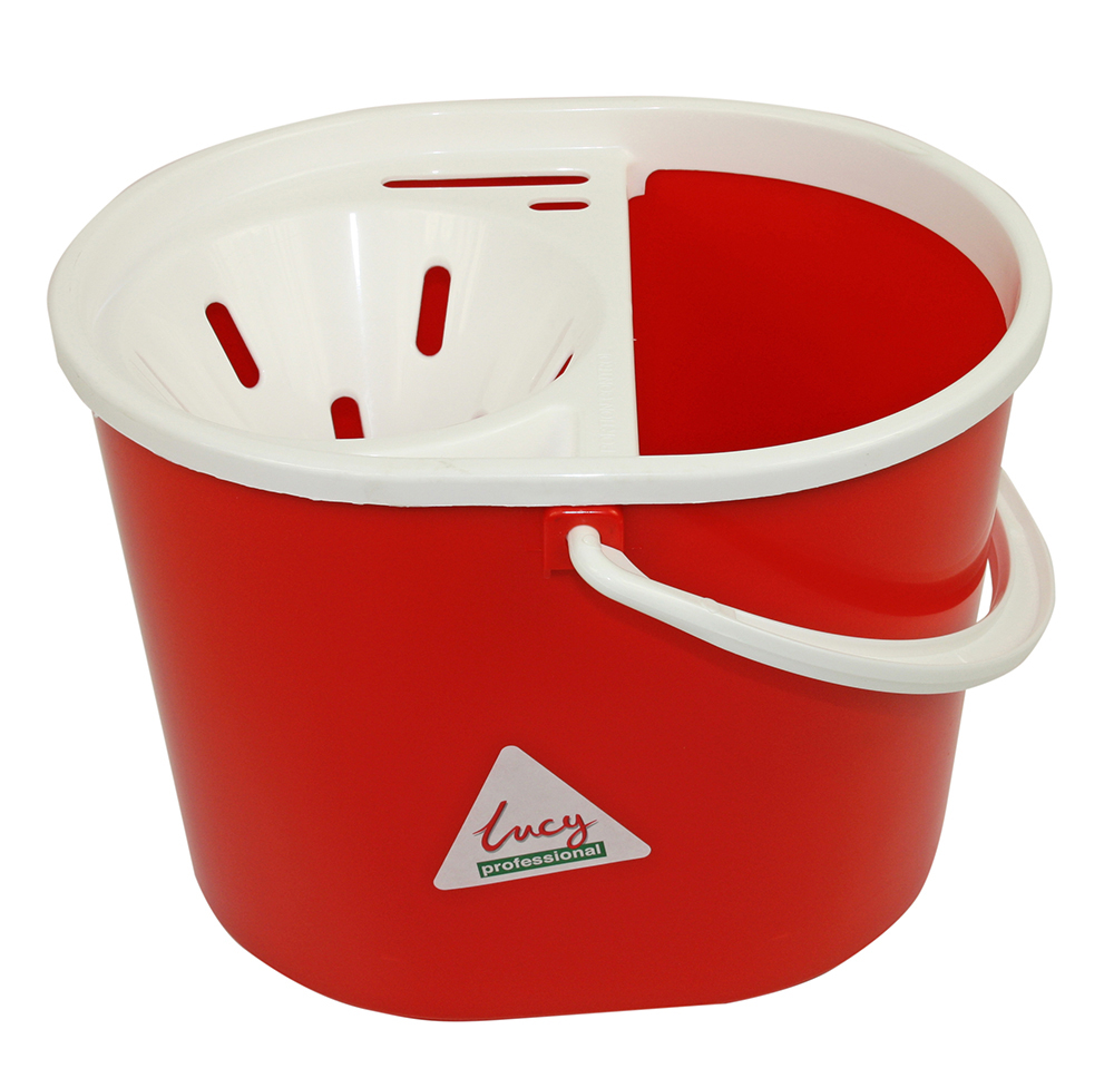 Oval Mop Bucket 7ltr.Red.