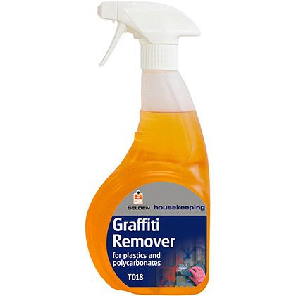 Graffiti Remover,For Plastic &Polycarbonate(6x750mlTrigger)